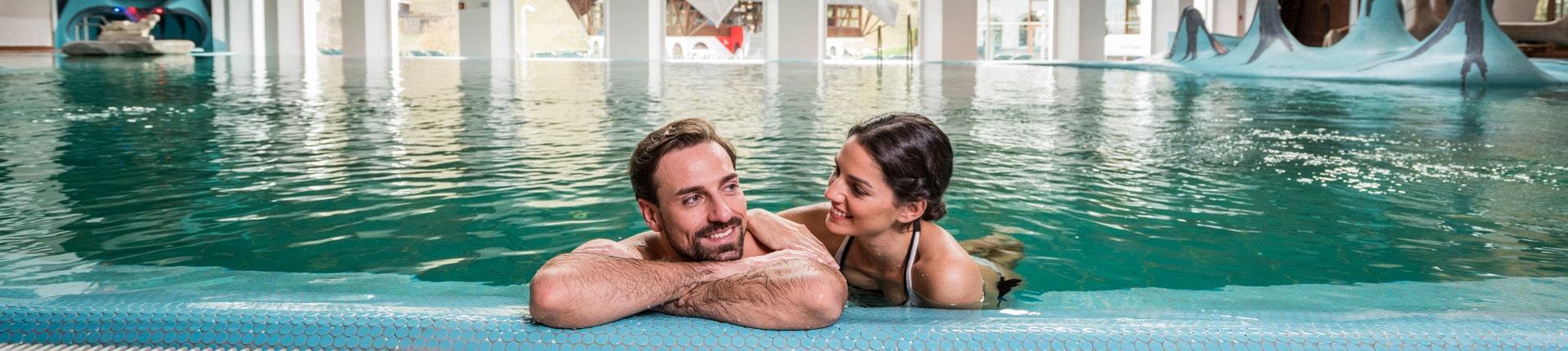 Thermalbad Pool im Bad Kleinkirchheim