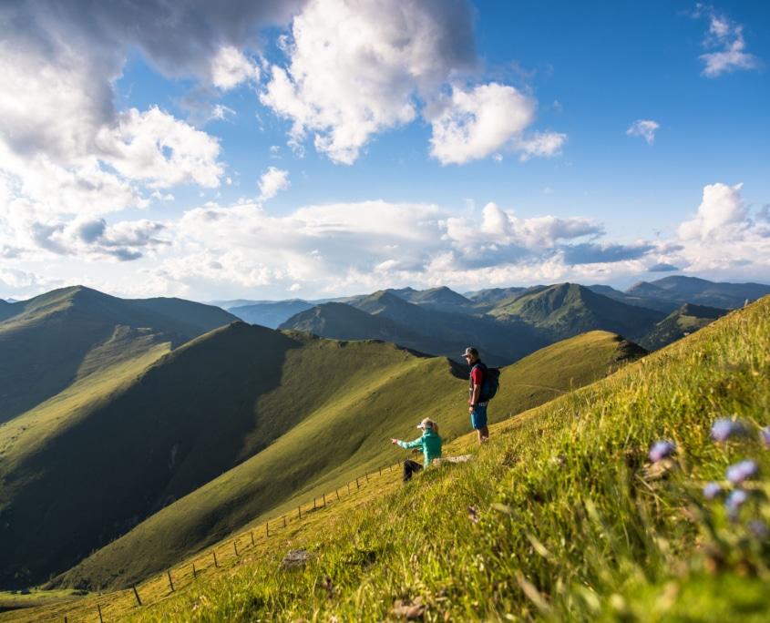 Etappe 5 Nockberge-Trail im Sommer