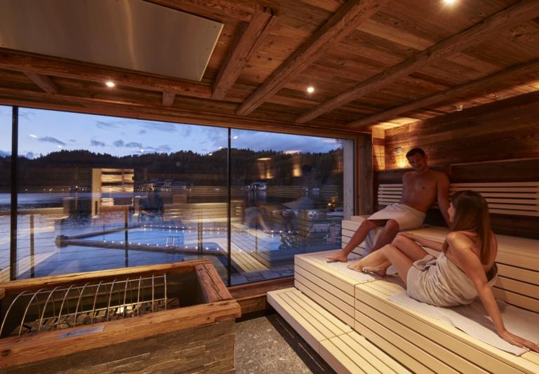 Hochschober Sauna im Sommer
